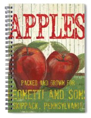 Apples Spiral Notebooks