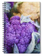 Cauliflower Spiral Notebooks