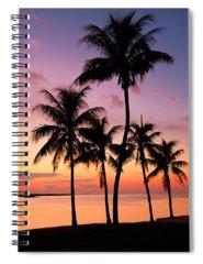 Island Photographs Spiral Notebooks