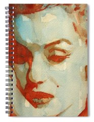 Red Lips Spiral Notebooks