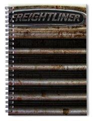 White Line Fever Spiral Notebooks