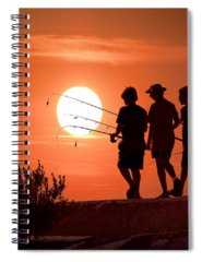 Fishing Tackle Spiral Notebooks