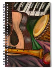 Music Spiral Notebooks