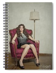 Throne Photographs Spiral Notebooks