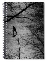 Hockey Spiral Notebooks