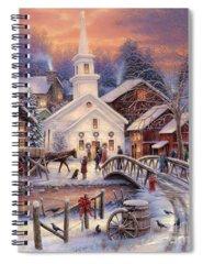 Kinkade Spiral Notebooks