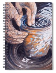 Potters Wheel Spiral Notebooks