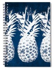 Blue Hawaii Spiral Notebooks