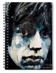 Mick Jagger Spiral Notebooks