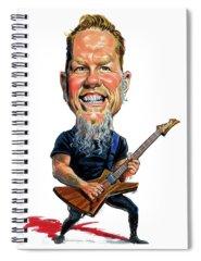 Metallica Spiral Notebooks