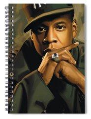 Jay Z Spiral Notebooks