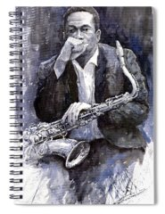 Jazz Spiral Notebooks