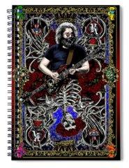 Grateful Dead Spiral Notebooks