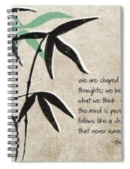 Leaf Mixed Media Spiral Notebooks