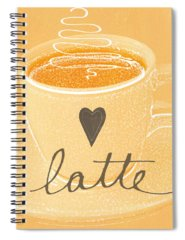 Designs Similar to Latte Love In Orange And White