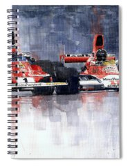 Motorsports Spiral Notebooks