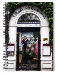 Le Moulin De La Galette Photographs Spiral Notebooks