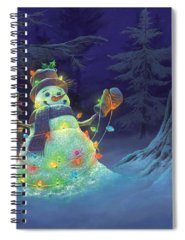 Christmas Spiral Notebooks
