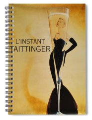 Taittinger Spiral Notebooks
