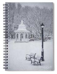 New England Winter Spiral Notebooks