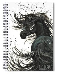 Black Horse Spiral Notebooks