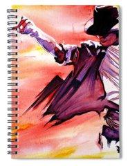 Billie Jean Spiral Notebooks