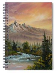 Bob Ross Paintings Spiral Notebooks