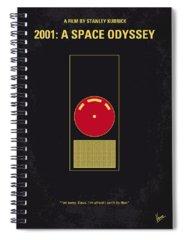 Spaceship Spiral Notebooks