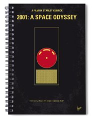 Space Spiral Notebooks
