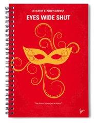 Eyes Wide Shut Spiral Notebooks