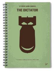 Sacha Baron Cohen Spiral Notebooks