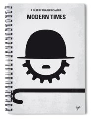 Modern Society Spiral Notebooks