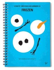 Winter Digital Art Spiral Notebooks