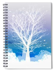 Moon Spiral Notebooks