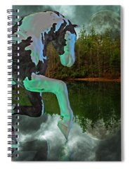 Glow Mixed Media Spiral Notebooks