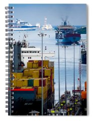 Ship Container Spiral Notebooks