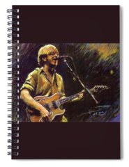 Stars Rock And Roll Spiral Notebooks