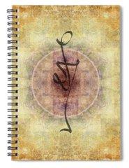 Mandala Photographs Spiral Notebooks