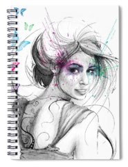 Mixed Drawings Spiral Notebooks