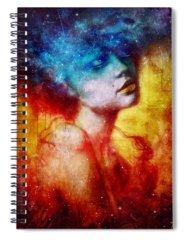 Galaxy Spiral Notebooks