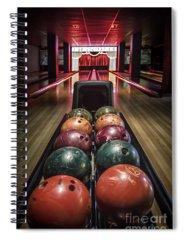Bowling Ball Spiral Notebooks