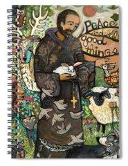 Saint Spiral Notebooks