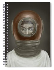 Helmet Spiral Notebooks