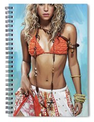 Shakira Spiral Notebooks