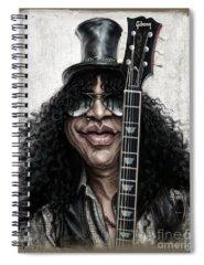Music Rock Guns N Roses Spiral Notebooks