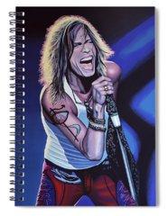 Steven Tyler Spiral Notebooks
