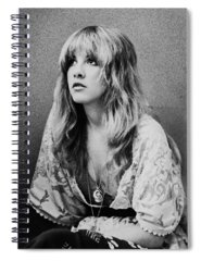 Singer Rock And Roll Spiral Notebooks