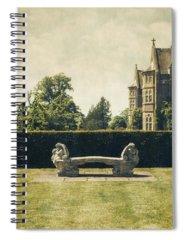 Green Photographs Spiral Notebooks