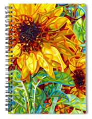 Colours Paintings Spiral Notebooks