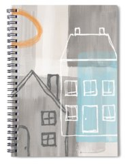 Commercial Building Spiral Notebooks